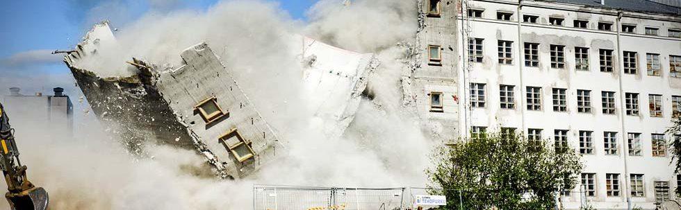 Suomen Tehopurku purkaa kaikenlaiset rakennukset kuten kerrostalot, rivitalot, liikehuoneistot, koulut ja muut vastaavat rakennukset.